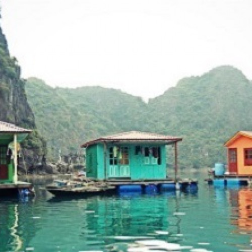 Vung Vieng Floating Village - Bai Tu Long Bay