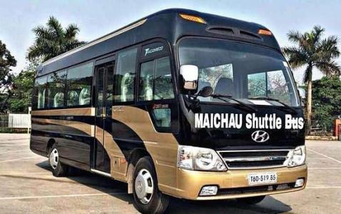 Bus Hanoi - Mai Chau
