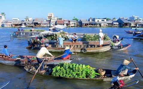 Visit Mekong Floating Markets