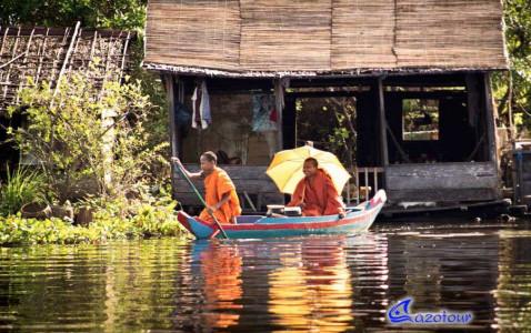 Phnompenh - Battambang - Siemreap