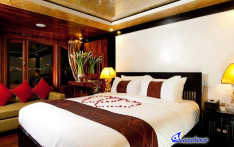 Valentine Premium Junk - Private Cruise Halong
