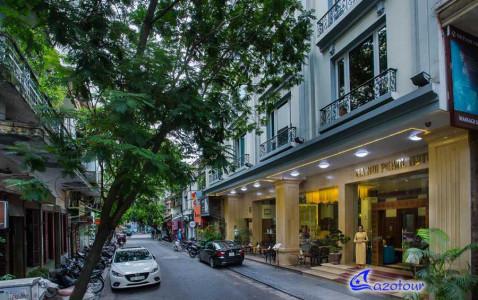 Family COMBO: Rosy Cruise & Hanoi's 4* Hotel