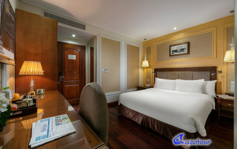 Honeymoon COMBO: Aphrodite Cruise & Hanoi's 4* Hotel