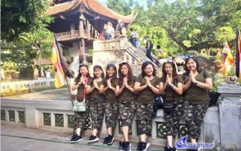 Hanoi - Mai Chau - Ninh Binh - Halong