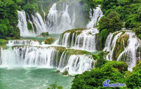 Ban Gioc Waterfall - Ba Be Lake Discovery