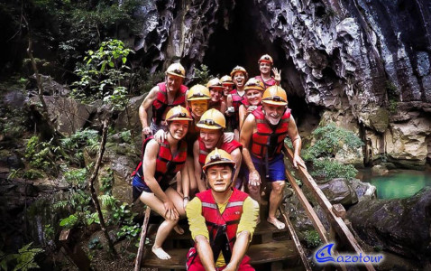 Paradise Cave 7 Km Adventure Full Day