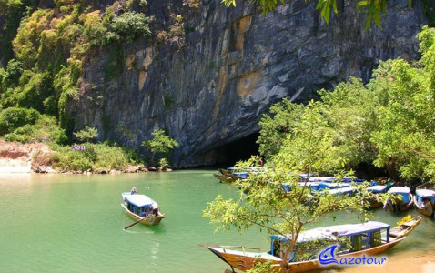 Paradise Cave & Phong Nha Cave Full Day Discovery