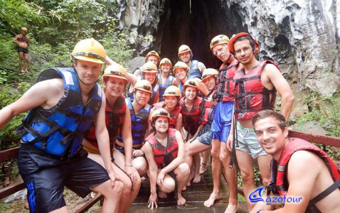 Rao Thuong - En Cave - Phong Nha Trekking