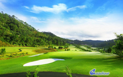 HCMC - Dalat - Sightseeing & Golf Playing