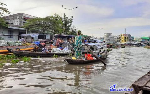 Saigon - Cao Dai Temple - Cai Rang Floating Market