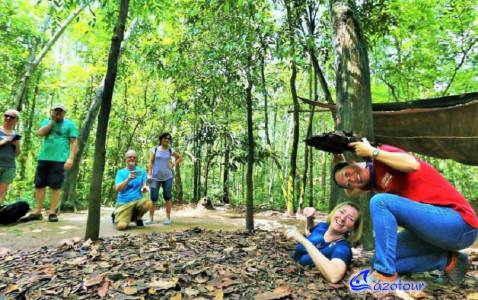 Cao Dai Temple - Cu Chi Tunnels Full Day Tour